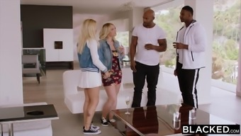 BLACKED A pair of Plus sized School Students Desire BBC