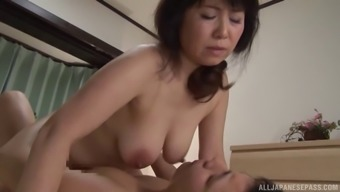 Curvaceous Japanese people milf taken out and entered erotically