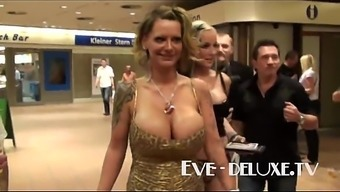 Eve Deluxe substantial titties made to tittyfuck