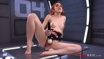 amarna miller solo with the use of fucking equipment