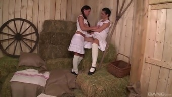 Athina Enjoy her lesbian original honey making out the different cunts