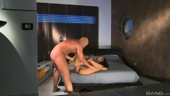 Angelika Afro consents to please her good friend by fucking with the use of him