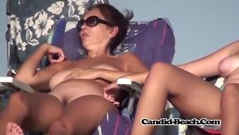 big booty naked milf parents and youths seashore spy voyeur hidden