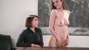 Shyla Jennings and her a pair of friends be able to masturbate within the more school like