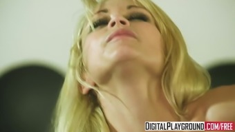 Monique Alexander gets blindfolded and pounded hard