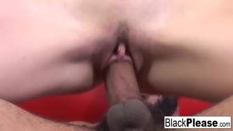 Horny Coco Velvett requires transcend cock on the couch