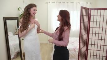 Masturbating together makes Elena Koshka and her friend happy