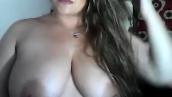 BBW with the use of vast boobs stinks tours