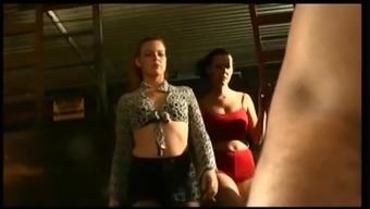 Mistress and slave sharing hot young aya