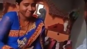Village Bhabhi Playing With Dver Dick