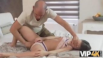 Vip4k. anita b dreams about hot sex with old guy