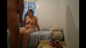 My widow mom is a chubby mature Arabian female who loves sex.
