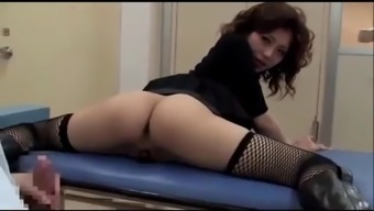 Japanese slut wife fucked with husband&#39s doctor