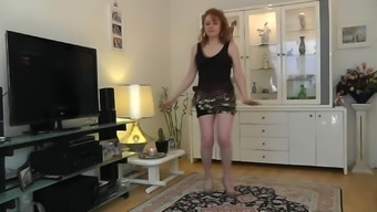 a sexy lady dancing