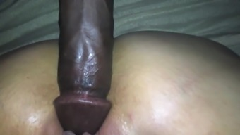 Wife's clit swells while enjoying BBC