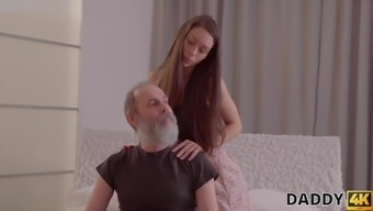 DADDY4K. Old man will never lose such a chance of fucking...
