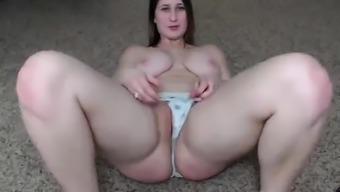 Large boobs Aria sucking a massive bad fats schlong