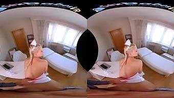 Helena Moeller in Nurse Sucking Patient - SexBabesVR