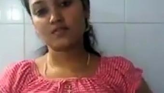 Cute Girl Making Her Bf's cock hard Whatsapp Video