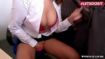 LETSDOEIT - Anna Polina - Big Tits Russian MILF Ass Fucked After BBC Blowjob