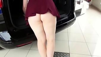 Exhibits in car dealership