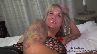 Lis InkedFantasy and Danny Blaq Humiliate Cuckold