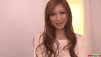 Reira Aisaki Impressive Hardcore Sex On The Couc - More At Japanesemamas.com With Chihiro Hara