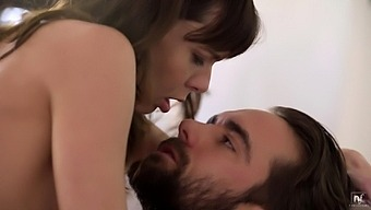 Sweet girl Vera King makes a dick disappear in her tight cunt
