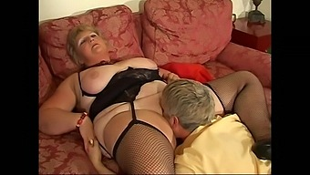 Naughty MILF Julia Blu gets her hands on a big delicious pecker