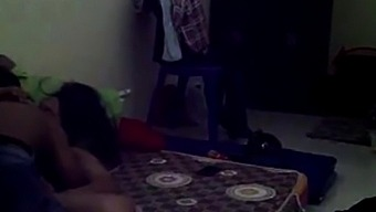 indonesian sexy babe with her boyfriend