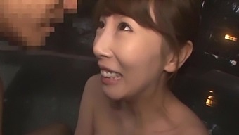 Nice fucking in doggystyle and missionary with cute Kisaki Aya