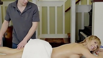 momsteachsex – busty milf gets hot mother's day threeway s8:e4