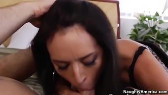 Hot Cougar Franceska Jaimes Hard Sex Video