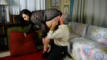 Lovely big tits chubby blond adores to fuck & facials