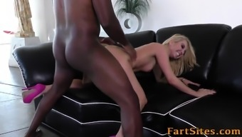 Blond can take exemplary stick