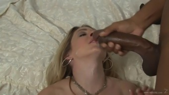 This naughty light cougar is obsessed with major exemplary prick