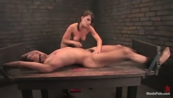 Cents Heat in Kinky BDSM Performance in Femdom Vid with Pegging Behavior