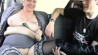 He shared his significant other Murielle inside an outdoor adventure gangbang