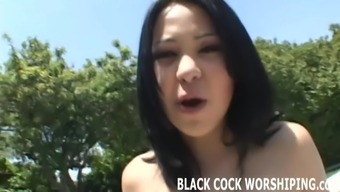 Your desired little junk cant differentiate to a great dark black cock