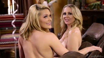 Johnny Castle fucks Abby Traverse and her filthy lesbian lady