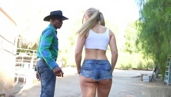 Watch how attractive blond got profound fuck by optimal companion. This lady really likes it.