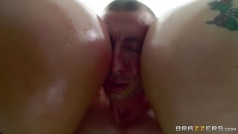 aj applegate and savannah coyote pressing such a asses into his handle