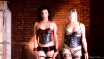 Adrianna Nicole and Desiree Precious stone are looking for a hunk's major cock