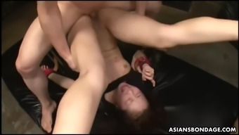infirm ui mizushima gets fisted and pounded complicated by her gurus
