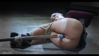 abigail dupree gets her pussy got rid of using a dildo in bdsm action