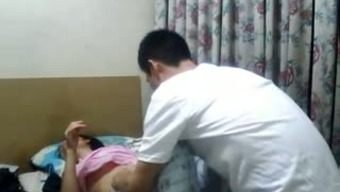 Lean novice love from Nepal is driving very difficult dick on top