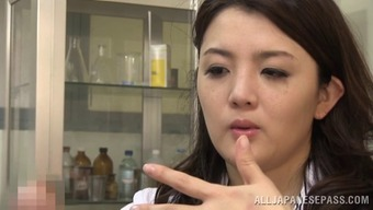 Touching Japanese people medical professional rapidly drops in love with the built penis