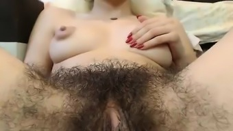 Sizzling Fuzzy Pussy With Big Nipples On Webcam