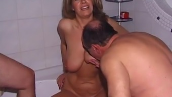 Age Gangbang event by using Dock