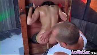 Immersed Anus Intercourse On Mp3 With Major Full-figured Ass Horny Love (Abella Hazard) vid-02
